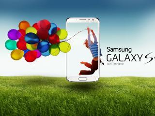 обои Реклама мобильного телефона от Самсунг фото