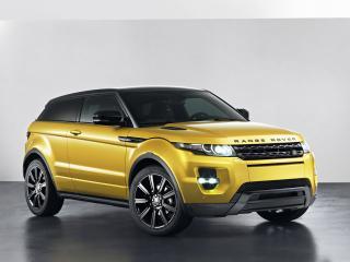 обои Range Rover золотистого цвета фото