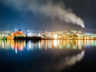 обои Мурманский порт фото