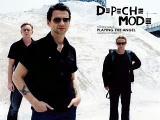 обои Depeche mode в сборе фото
