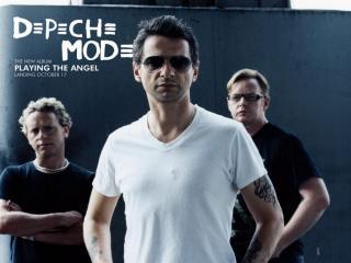 обои Depeche mode - тройка фото