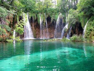 обои Водопады Плитвице фото