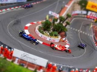 обои Вид гоночной трассы фото