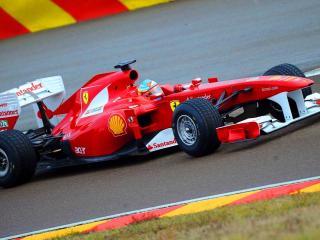 обои Красная гоночная машина фото