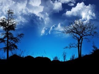 обои Утренние облака фото