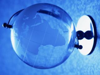 обои Стеклянный глобус фото