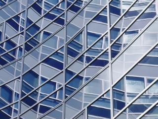 обои Окна специфической формы в здании фото