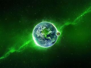 обои Земля - вид из космоса фото
