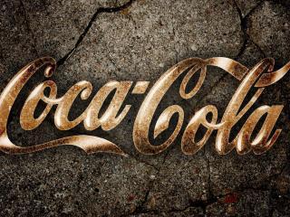 обои Надпись Кока-кола фото