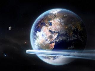 обои Земля и космос фото