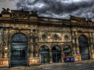 обои Серость старого здания фото