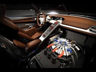 обои Салон прокачанного Porsche фото