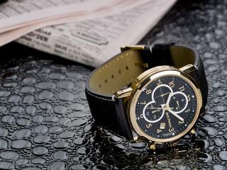 обои Часы Jack Pierre у газеты фото