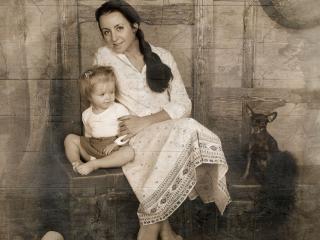 обои Семейный портрет фото