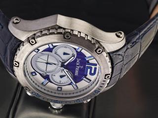 обои Часы Jack Pierre с синим циферблатом фото