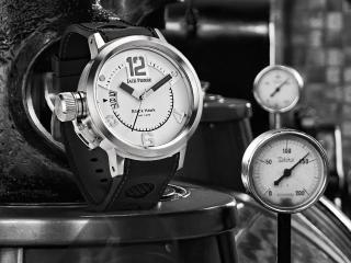 обои Часы Jack Pierre black фото