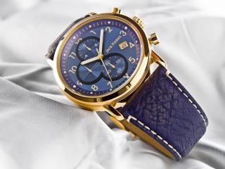 обои Часы Jack Pierre с синим ремешком фото