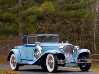 обои Ретро-авто Cord L29 Convertible 1929-1932 фото