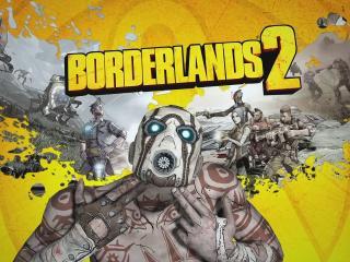 обои Персонажи на рисунке из игры borderlands 2 фото