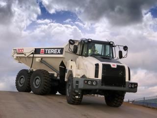 обои Карьерные грузовики фото
