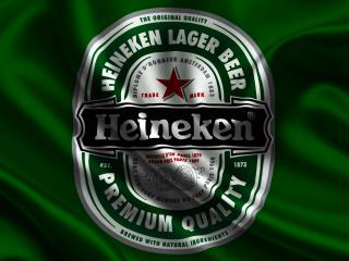 обои Эмблема пива на фоне зеленом фото