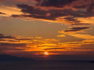 обои Очарование вечернего неба фото