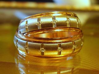 обои Золото обручальных колец фото