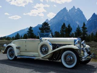 обои Ретро-авто Duesenberg J Convertible Coupe SWB  1929-1932 фото