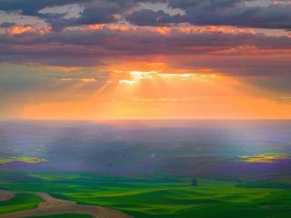 обои Свет небесный фото