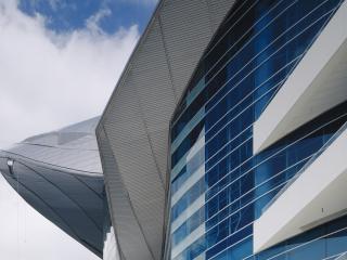 обои Фантастика современных зданий фото
