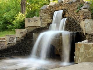 обои Парковый водопад фото