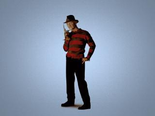 обои Фредди Крюгер в шляпе фото