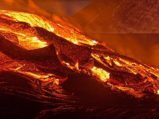 обои Вулкан Толбачик фото
