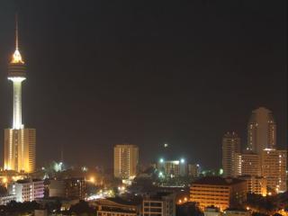 обои Паттайя - вид ночью фото