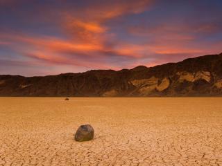 обои Вечер в пустыне фото