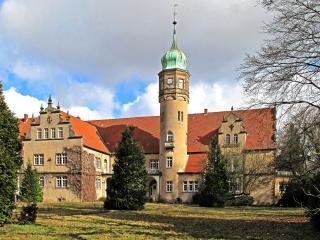 обои Замок с башнeй фото