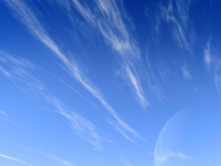 обои Голубое небо фото