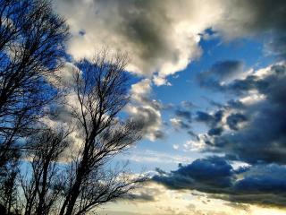 обои Небеса апрельские фото