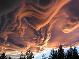 обои Поразительные облака фото