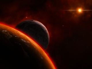 обои Яркие цвета космическиу фото