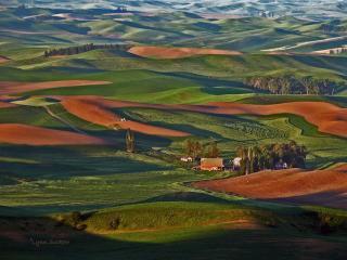обои Холмы Палуз - разноцветные фото