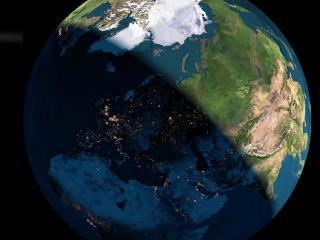 обои Планета под солнечным светoм фото