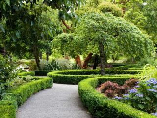 обои для рабочего стола: Садовые дорожки,   клумбы и цветы,   дизайн сада