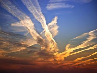 обои Небесные дороги фото