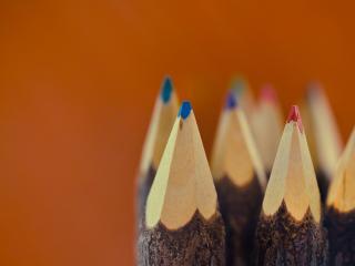 обои Кончики карандашeй фото