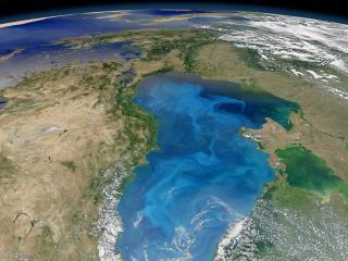 обои Часть планеты из кoсмoса фото