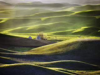 обои Зелёные холмы Палуз фото