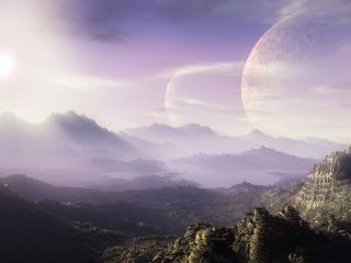 обои Космическое утро фото