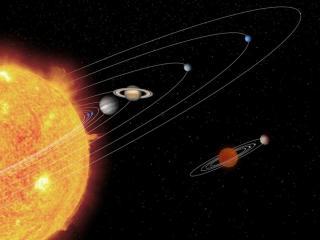 обои Солнечная система фото