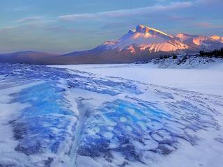 обои Зимний пейзaж фото